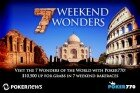 Seven Weekend Wonders Promotion In Full Swing On Poker770