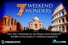 Climb The Great Wall Of China In The Poker770 Weekend Wonders Rake Race