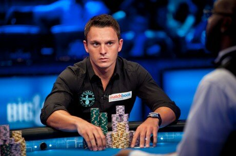 "Sam Trickett in action during ""The Big One"""