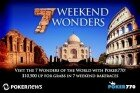 Poker770 Weekend Wonders: Week #5 Taj Mahal Results