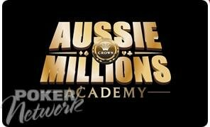 Aussie Millions Academy is set to be a huge hit!